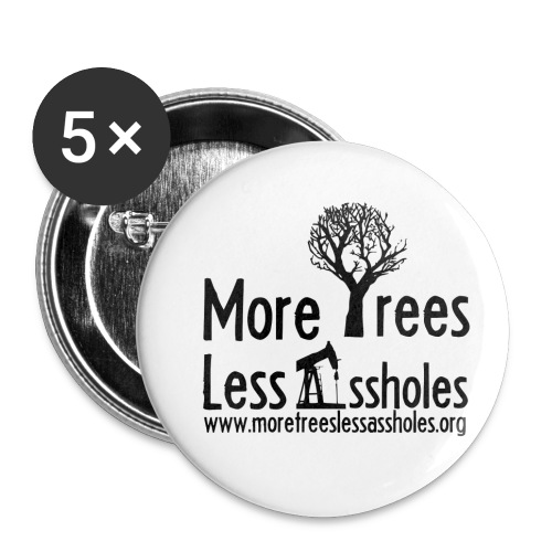 MTLA.org - Buttons small 1'' (5-pack)