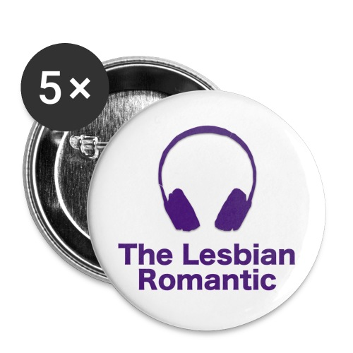 The Lesbian Romantic - Buttons small 1'' (5-pack)