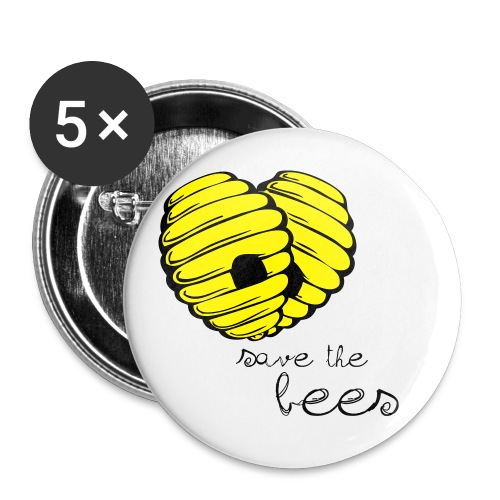 savethebees - Buttons small 1'' (5-pack)