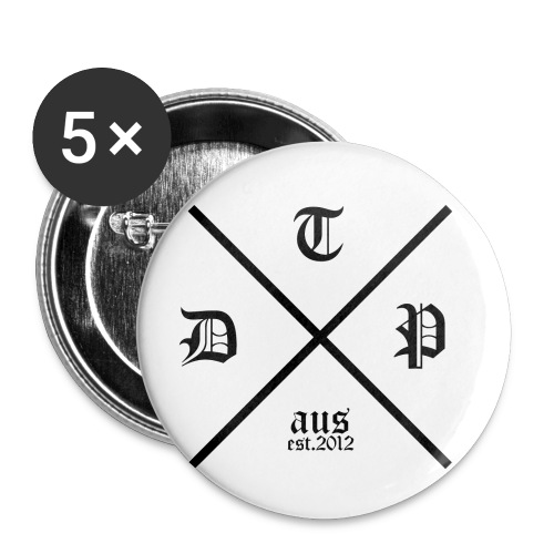 hipster dtp png - Buttons small 1'' (5-pack)