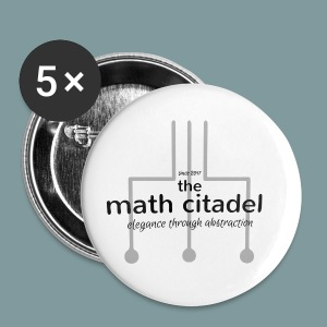 Abstract Math Citadel - Small Buttons