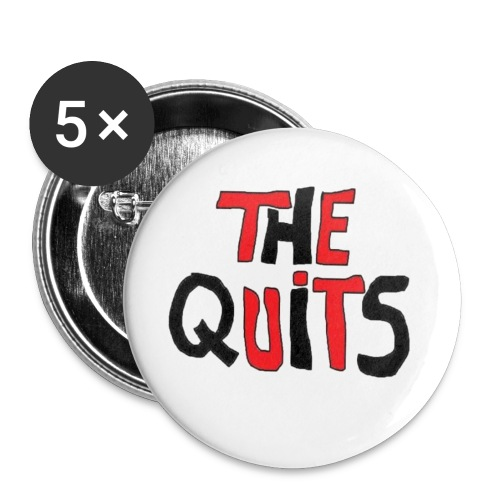 quits logo - Buttons small 1'' (5-pack)