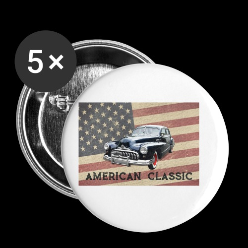 Classic Buick - Buttons small 1'' (5-pack)