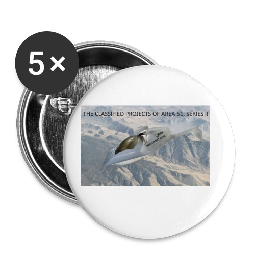 THE CLASSIFIED PROJECTS OF AREA 51 - Small Buttons