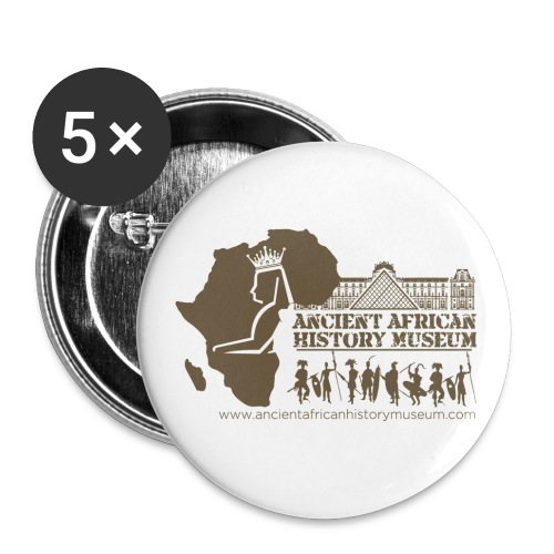 Ancient African History Museum Atlanta, Georgia - Buttons small 1'' (5-pack)