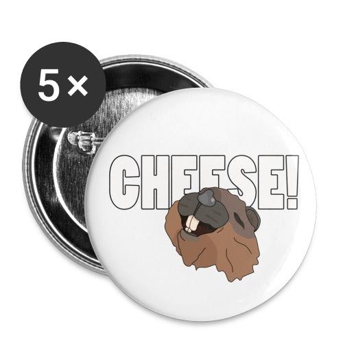 beavercheese - Buttons small 1'' (5-pack)
