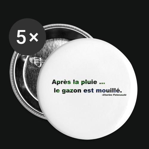 WET GRASS - Buttons small 1'' (5-pack)