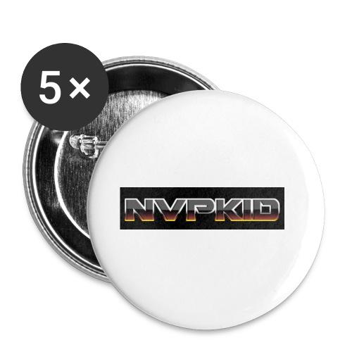 nvpkid shirt - Buttons small 1'' (5-pack)