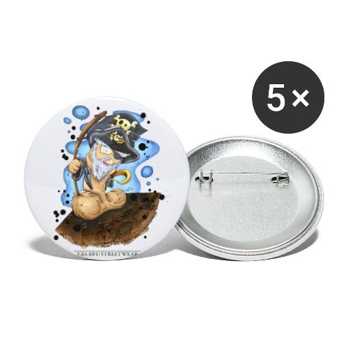 captain cock - Buttons small 1'' (5-pack)