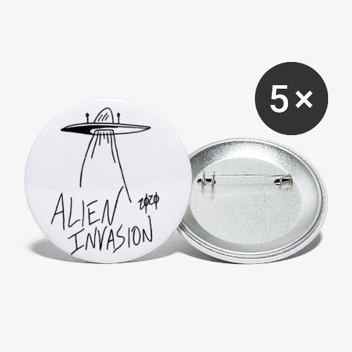 alien invasion - Buttons small 1'' (5-pack)