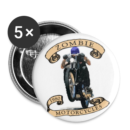 wheelie1 - Buttons small 1'' (5-pack)