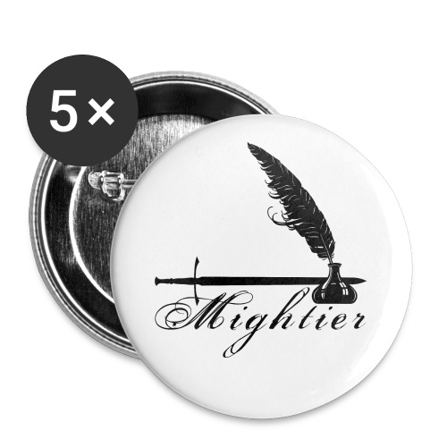 mightier - Buttons small 1'' (5-pack)
