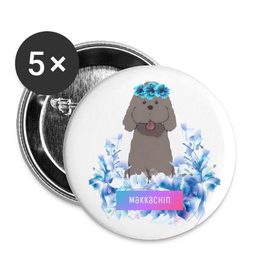 Yuri on Ice Makkachin - Small Buttons