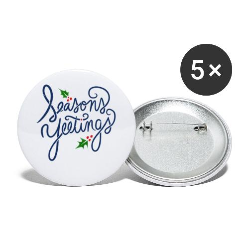 Seasons Yeetings - Buttons small 1'' (5-pack)