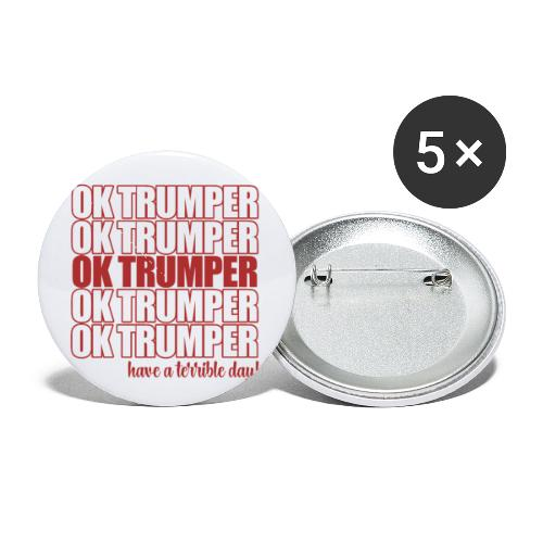 OK trumper - Buttons small 1'' (5-pack)