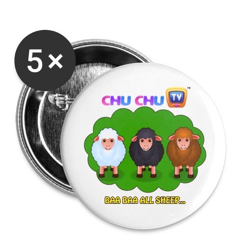 Motivational Slogan 4 - Buttons small 1'' (5-pack)