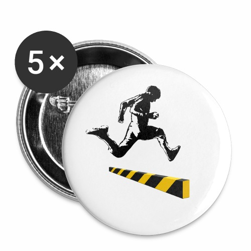 Leaping The Bounds of Caution - Buttons small 1'' (5-pack)