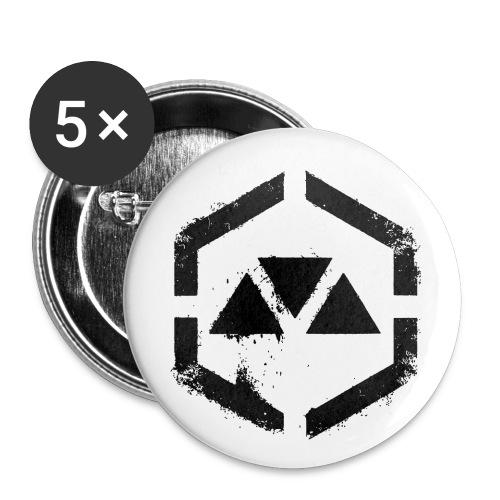MOVEMENT WAR logo - Buttons small 1'' (5-pack)