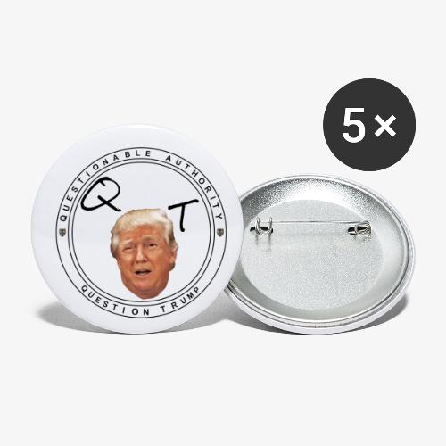Question President Trump - Buttons small 1'' (5-pack)