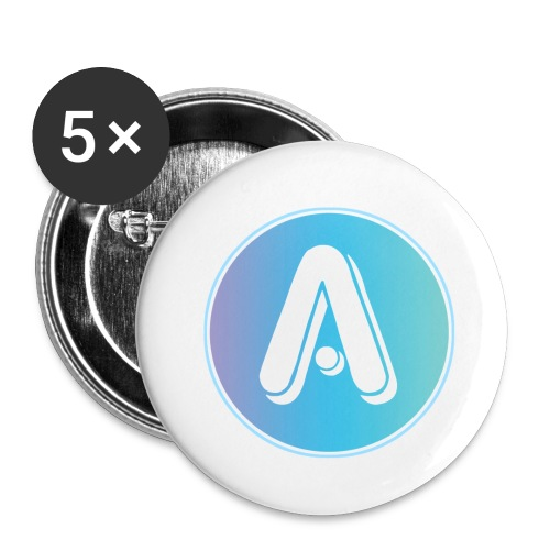 Amplify Logo 1 - Buttons small 1'' (5-pack)