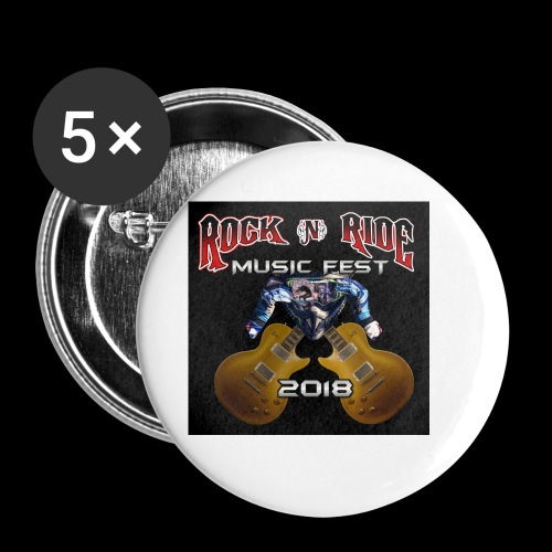 RocknRide Design - Buttons small 1'' (5-pack)