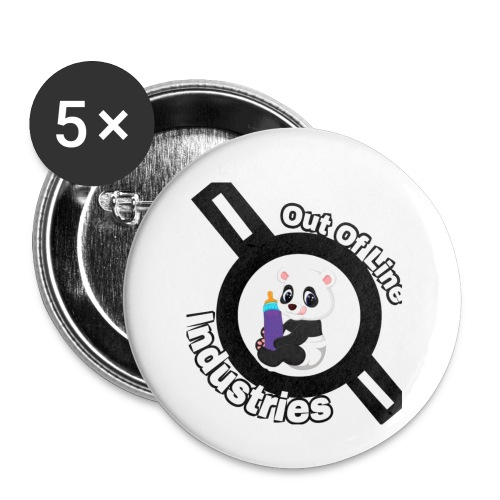O.U.I#1 - Buttons small 1'' (5-pack)