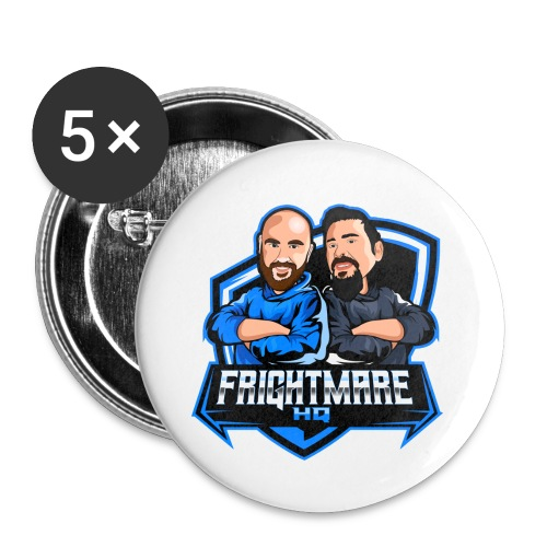 Frightmare HQ - Buttons small 1'' (5-pack)