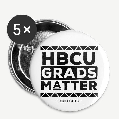 HBCU Grads Matter - Buttons small 1'' (5-pack)