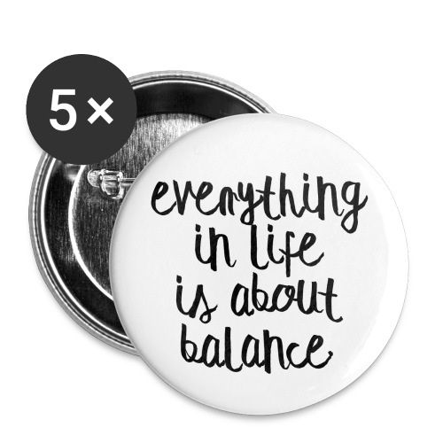 Balance - Buttons small 1'' (5-pack)