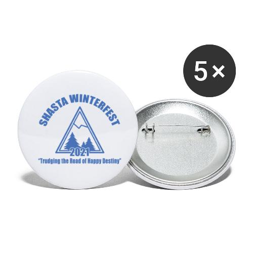 front logo - Buttons small 1'' (5-pack)