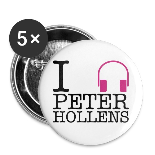 peter hollens2 - Buttons small 1'' (5-pack)