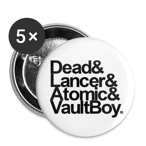 Ampersands are Dead - Small Buttons