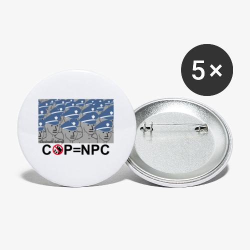 COP=N-P-C - Buttons small 1'' (5-pack)
