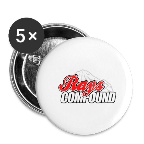 Rays Compound - Buttons small 1'' (5-pack)