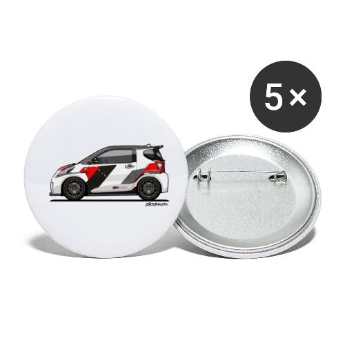 Toyota Scion GRMN iQ Concept - Buttons small 1'' (5-pack)