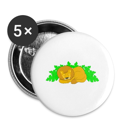 Sleeping Lion - Small Buttons
