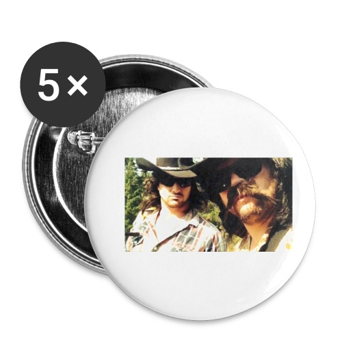 Jaw Thrust Cover Art - Buttons small 1'' (5-pack)