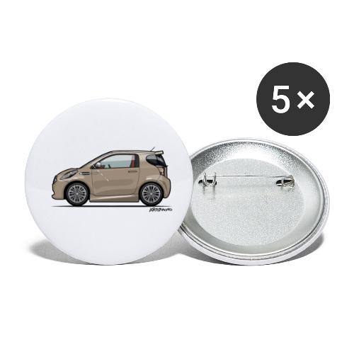 AM Cygnet Blonde Metallic Micro Car - Buttons small 1'' (5-pack)