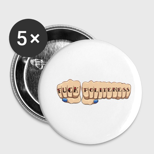 My Favorite Murder Fuck Politeness MFM - Buttons small 1'' (5-pack)