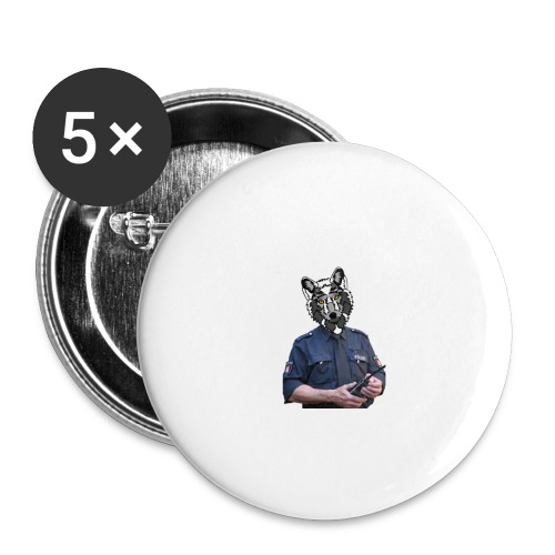 wolf police - Buttons small 1'' (5-pack)