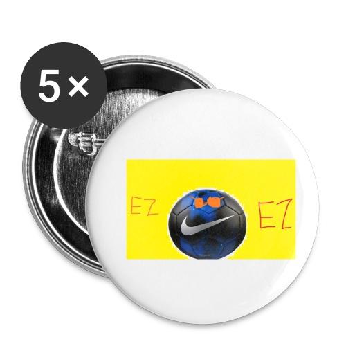 ez soccer tekkerz - Buttons small 1'' (5-pack)