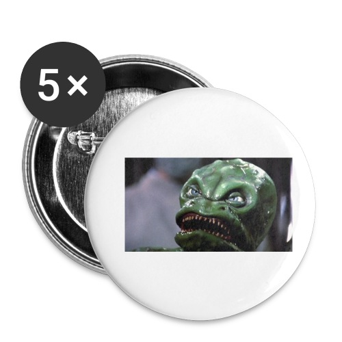 Lizard baby from Z - Buttons small 1'' (5-pack)