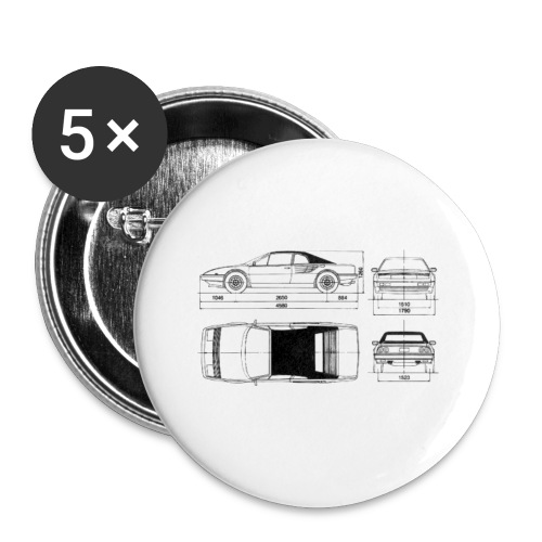 artists rendering - Buttons small 1'' (5-pack)