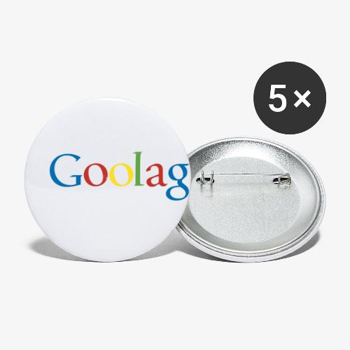 goolag - Buttons small 1'' (5-pack)
