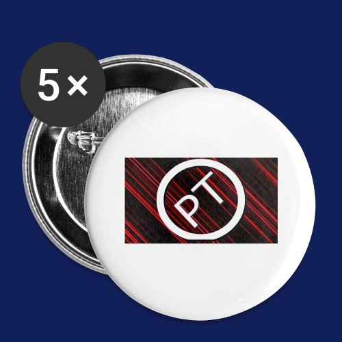 Pallavitube wear - Buttons small 1'' (5-pack)