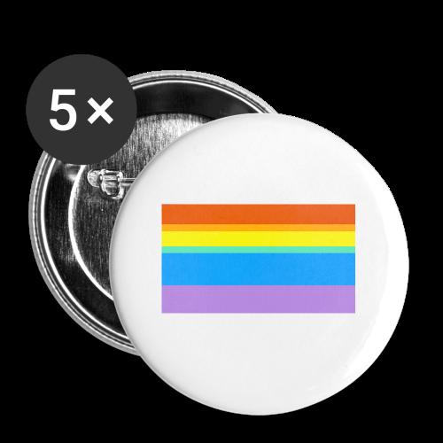 Modern Rainbow II - Small Buttons