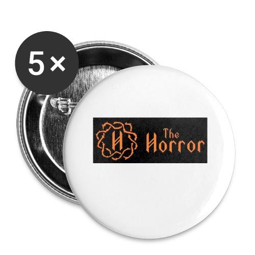 Horror pentagon logo - Small Buttons