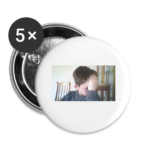 Luiz FAce!! - Buttons small 1'' (5-pack)