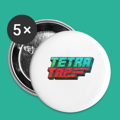 Tetra Tap - Buttons small 1'' (5-pack)
