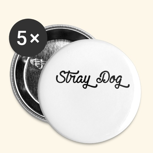 straydog - Buttons small 1'' (5-pack)